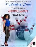 KINGSMEN MEDIA's 4Th Annual Family Day w/ TRINA BRAXTON